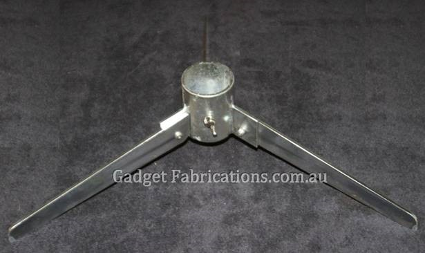 silver steel stands 3